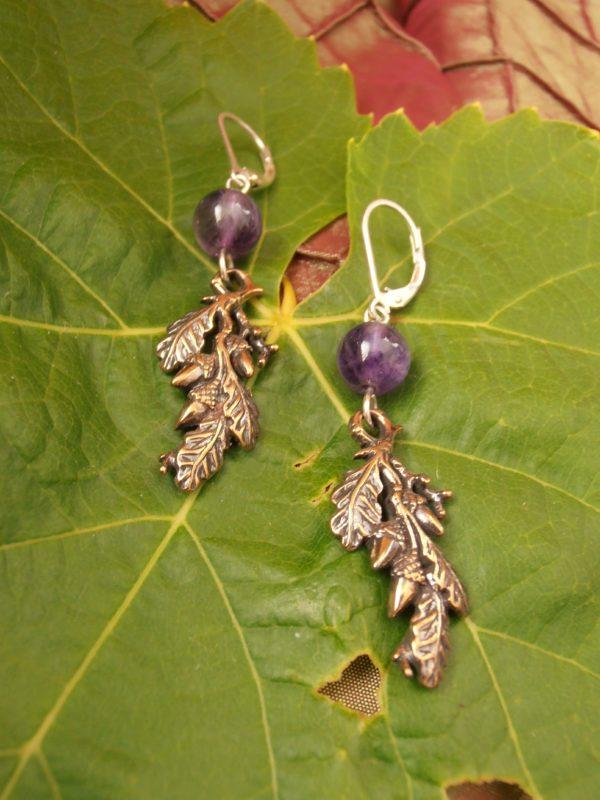 Acorn & Oak Leaf Earrings