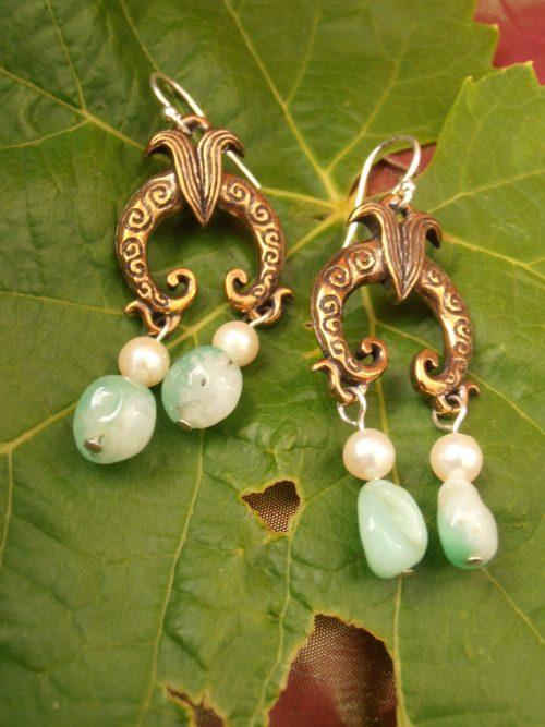 Greek Diadem Earring 2
