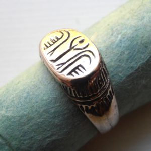 18th century Style Egyptian Ring