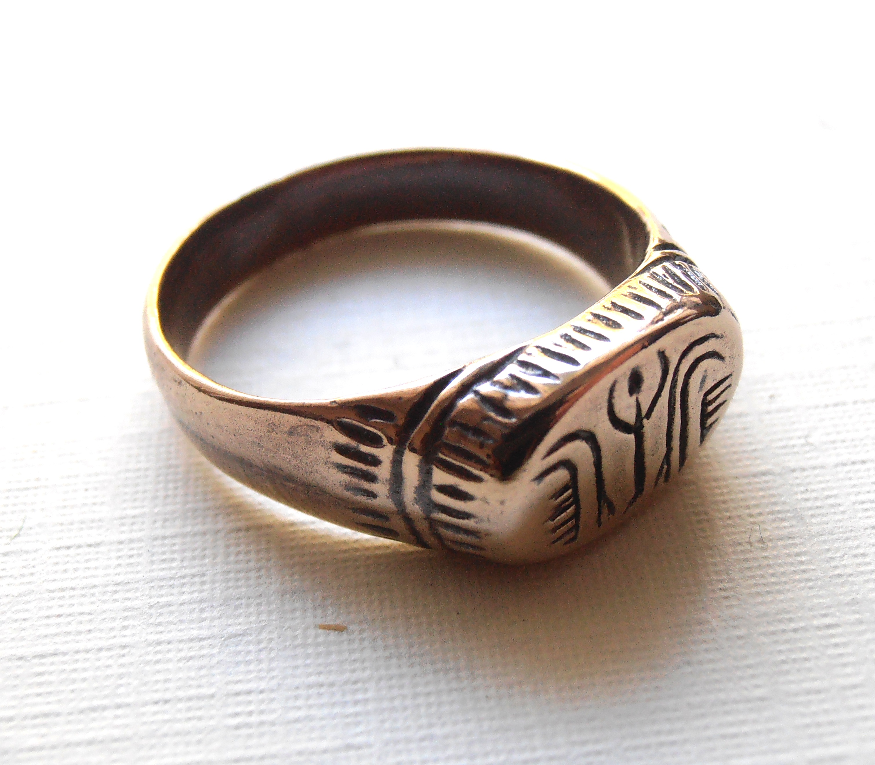 wedding ring products egyptianringtopbronze rings egyptian dynasty