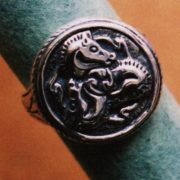 Triskelene Horse Seal Ring