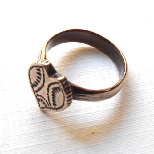 Moravian Heart Ring