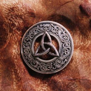 Norse Triskele Sash Pin
