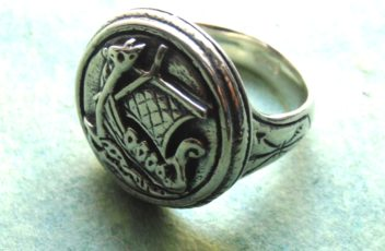 Viking Ship Seal Ring 1