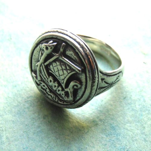 Viking Ship Seal Ring