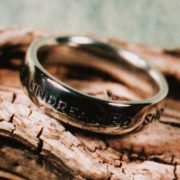 Shakespeare Posey Ring