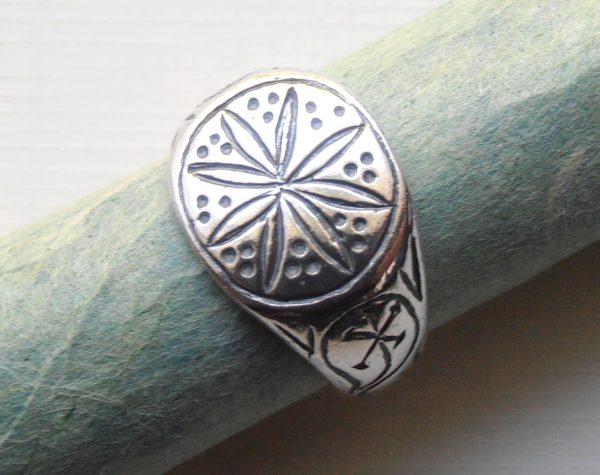 Roman Starburst Ring