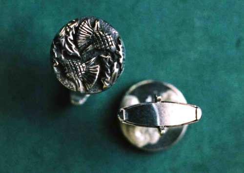 Double Thistle Cufflinks
