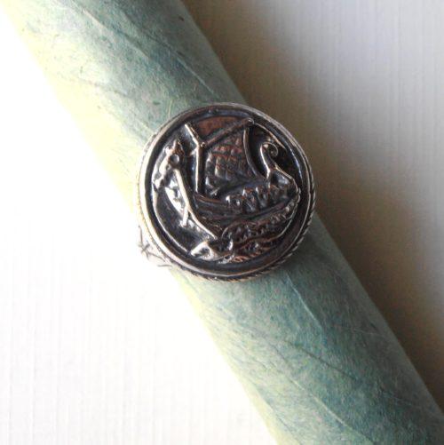 Viking Ship Seal Ring