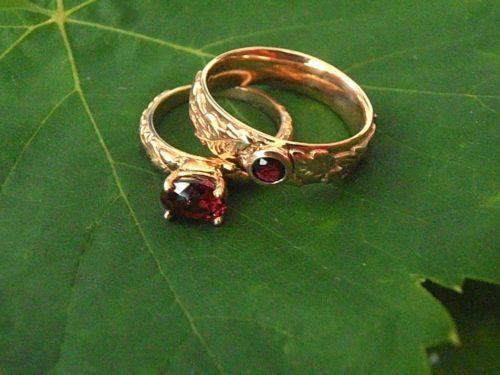 Acorn & Oak Leaf