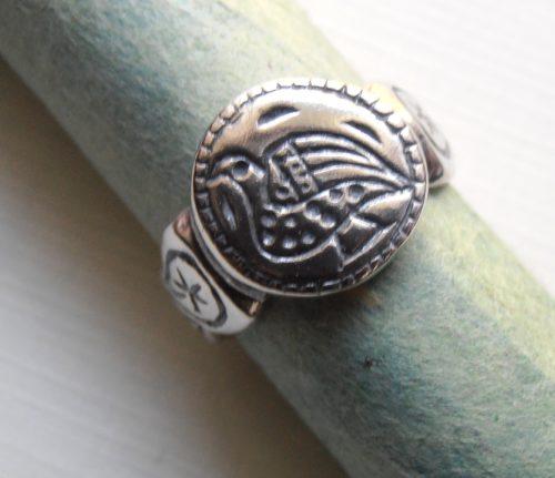 Roman Bird Ring